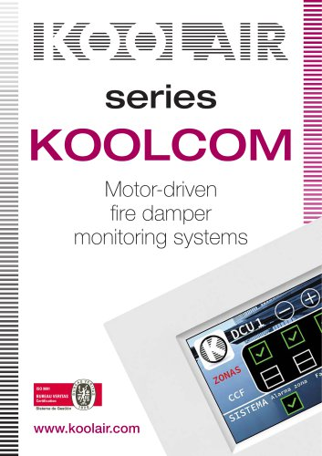 Motor-driven fire damper monitoring systems – KOOLCOM