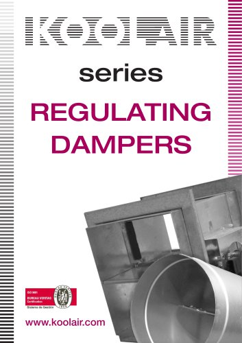 Regulating dampers