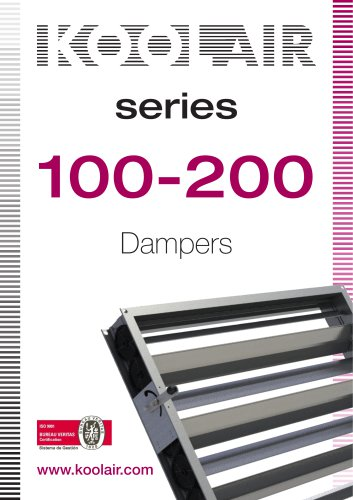 Series 100-200 Dampers