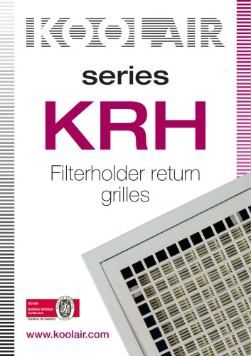 Series KRH Filterholder return grilles