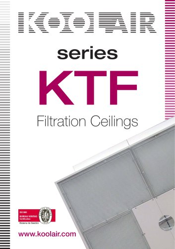 Series KTF Filtration Ceilings