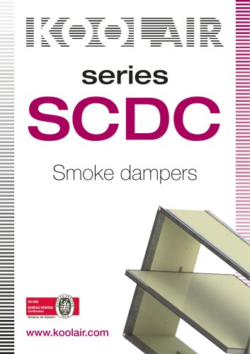 Series SCDC Smoke dampers