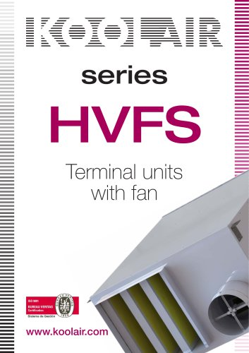 Terminal units with fan – HVFS