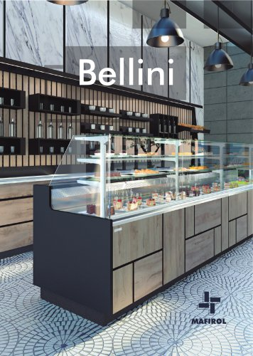 BELLINI - Refrigerated display case for pastrys and bakeries by Mafirol