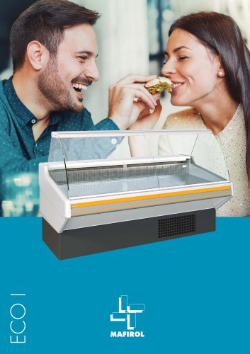 ECO I - Refrigerated display case by Mafirol