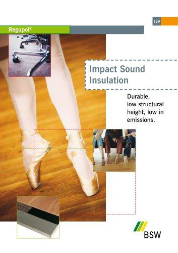 Underfloor Impact Sound Insulation