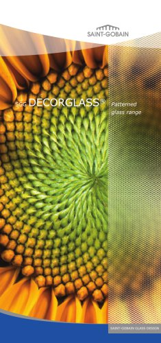 PATTERNED GLASS - DECORGLASS