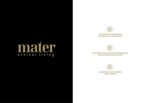 mater - furniture and lighting catalogue 2011