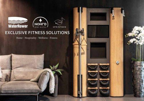 WaterRower NOHrD Sprintbok - Exclusive Fitness Solution