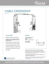 CMD-6180 Cable Crossover