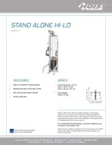 CMS-6175 STAND ALONE HI-LO PULLEY