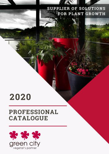 Catalogue général Green City 2020 English version