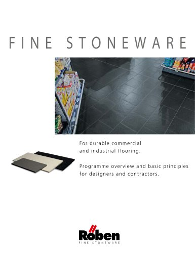 Fine Stoneware