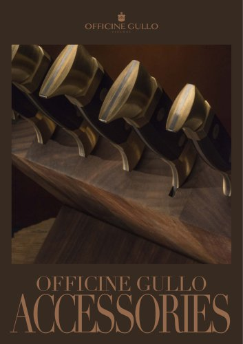 OFFICINE GULLO ACCESSORIES