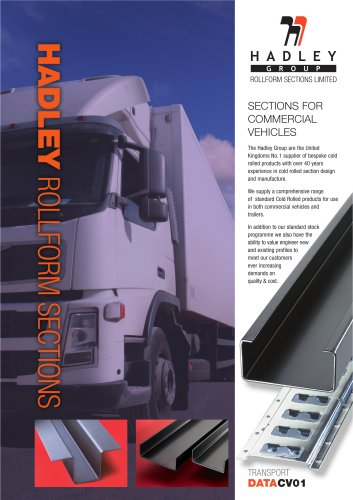SECTIONS FOR COMMERCIAL VEHICLES