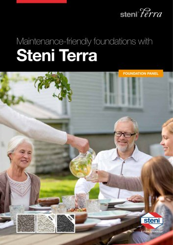 Maintenance-friendly foundations with Steni Terra