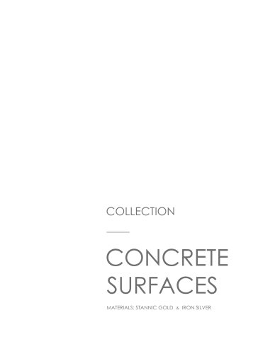 CONCRETE SURFACES