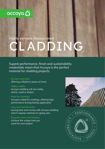 Accoya Benefits Flyer – Cladding