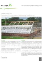 Restoration of the three historical Glasshouses at Fota Arboretum 1