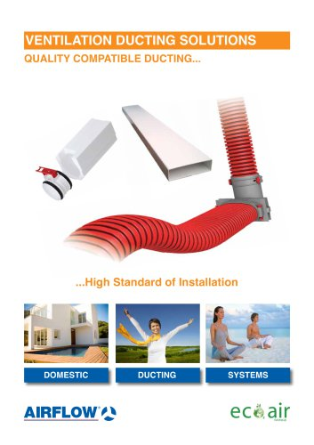 Ventilation ducting solutions