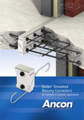 Isolan Insulated Balcony Connectors