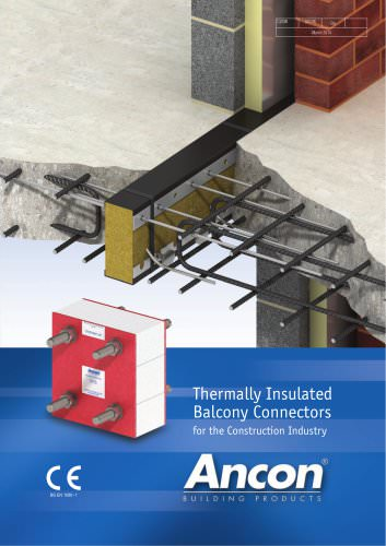 Thermally Insulated Balcony Connectors