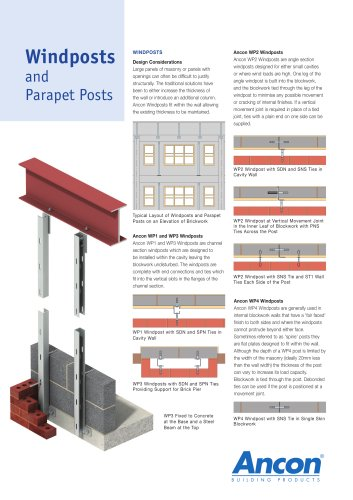 Windposts and Parapet Posts