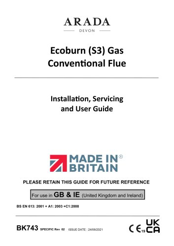 Ecoburn (S3) Gas Conventional Flueo