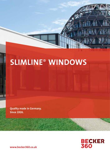 SLIMLINE® WINDOWS