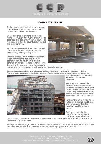 Concrete Frame