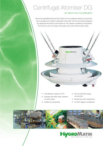 Centrifugal Atomiser Brochure