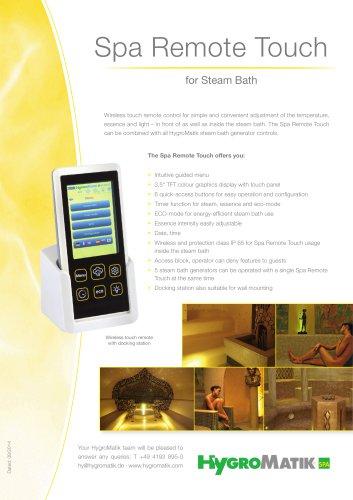 Spa Remote Touch