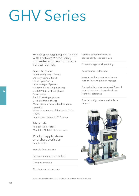 Pump Characteristics And Applications Pdf