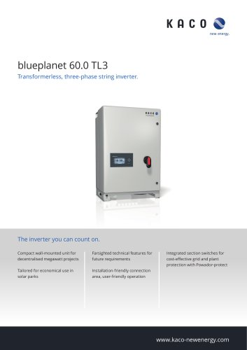blueplanet 60.0 TL3