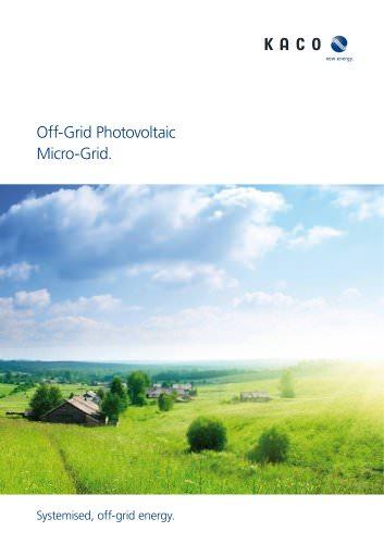 Electrifing off-gird Regions