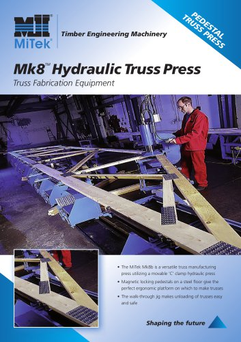 Truss Fabrication Equipment