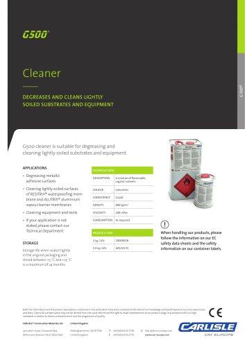 RESITRIX® G500 Cleaner