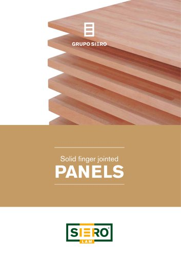 Solid finger jointed PANELS