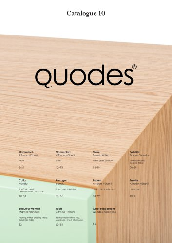 Quodes catalogue 2016