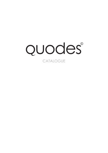 Quodes Design Catalogue web