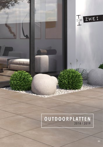 ZWEI - OUTDOOR PAVING SLAB