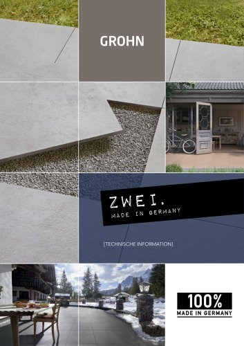 ZWEI. OUTDOOR TILE - TECHNOLOGY