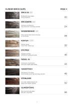 Catalogue Clinker brick slips 2019/2020 - 2