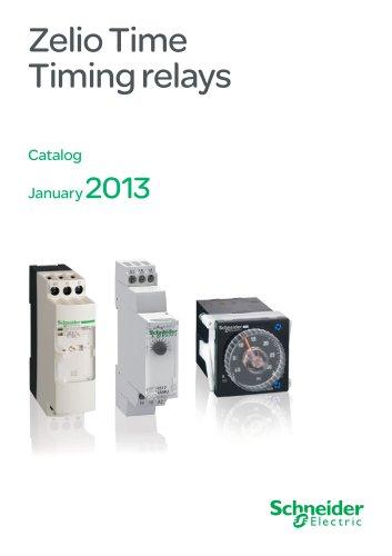 Zelio time-Timing relays catalog