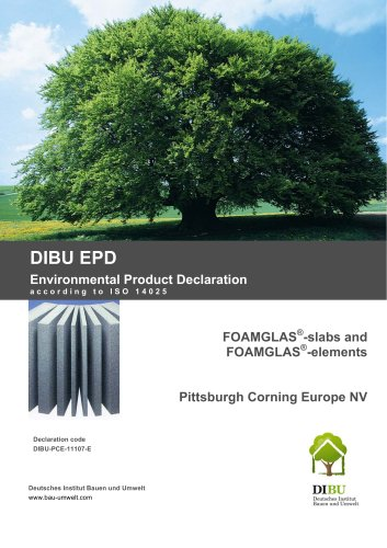 EPD: Environmental Product Declaration