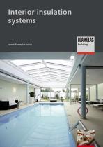 Interior insulation systems - 1