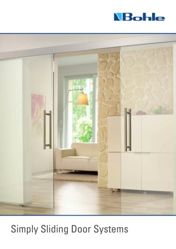 Simply Sliding Door Systems 2013