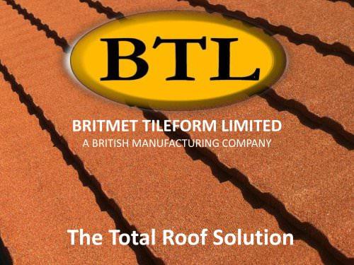 Export Catalogue Britmet Tileform Ltd Pdf Catalogs Documentation Brochures