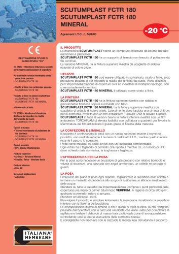 SCUTUMPLAST FCTR 180