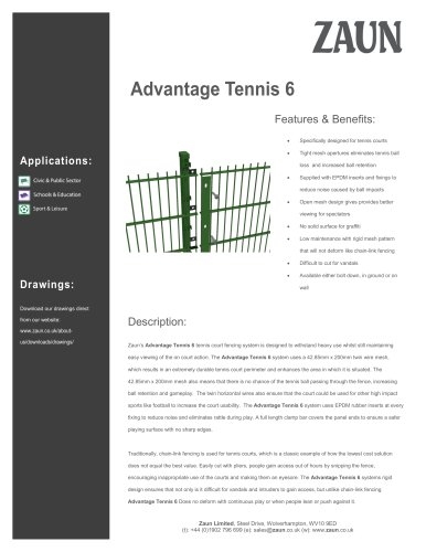 Advantage Tennis 6